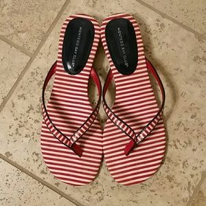 😍Striped Thong Sandals😍